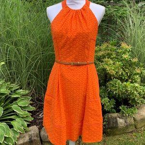 SALE🎉 Gorgeous ilet halter dress. Sz 8